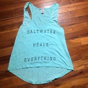 Saltwater Heals Everything Encinitas, CA Tank
